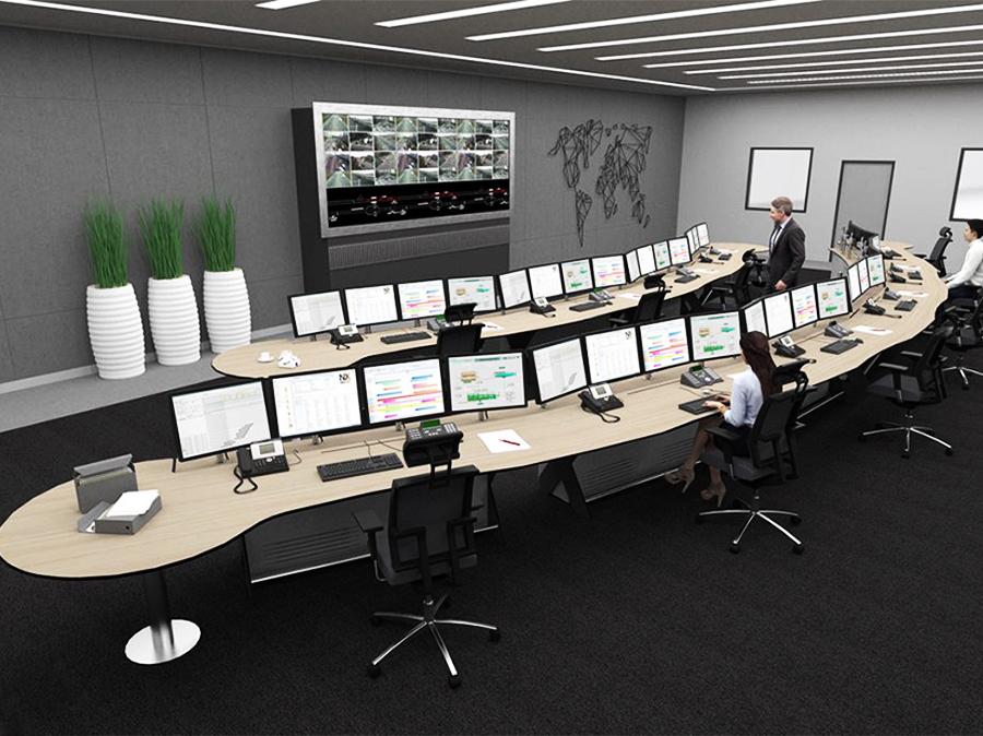 green connect - salle de contrôle grand angle