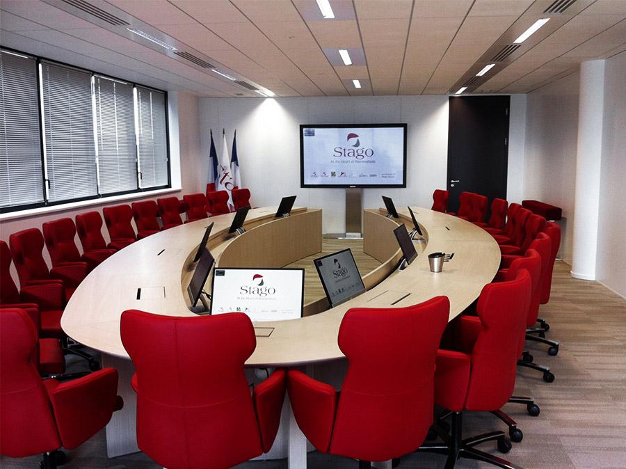 Salle de réunion Stago