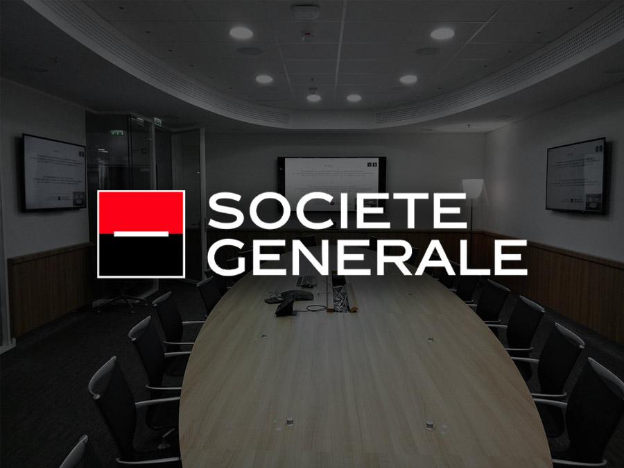 notre installation à la société générale