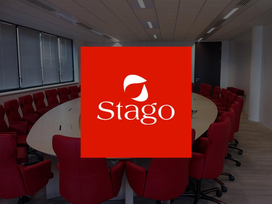notre installation à la société Stago